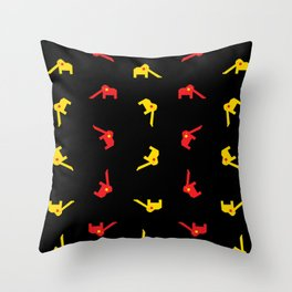 The Elephant Playground II - Singapore Series Throw Pillow