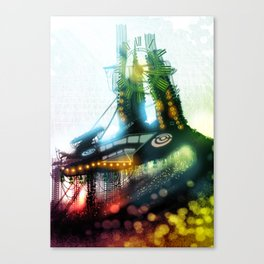 The Other Side of the Clock Canvas Print
