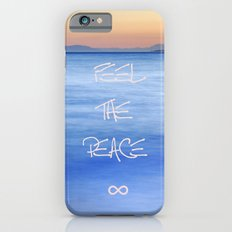 Feel the peace ∞ iPhone 6s Slim Case