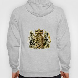 British Coat Of Arms Hoody