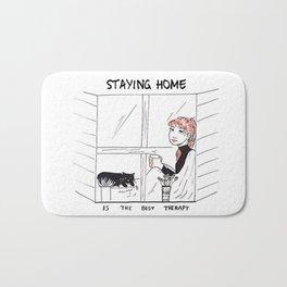 Staying Home Bath Mat