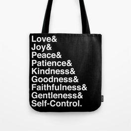 GALATIANS 5:22-23 Tote Bag