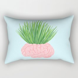 WHAT THE BRAIN IS ACTUALLY DOING Rectangular Pillow