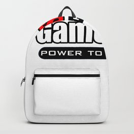 GameStonk - Power To The Retail Backpack