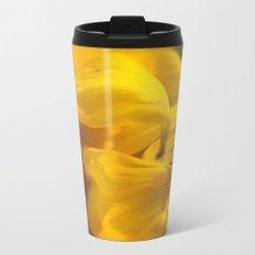 Sunflower Macro 2 Metal Travel Mug
