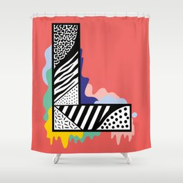 L for …. Shower Curtain