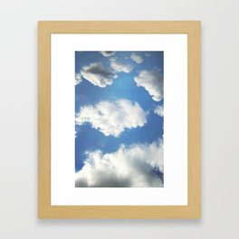 floatin Framed Art Print