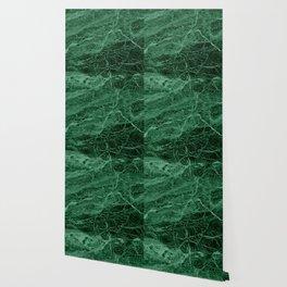 Dark emerald marble texture Wallpaper