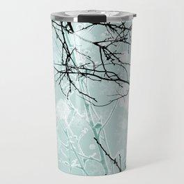 Winter Branches - Graphic Travel Mug