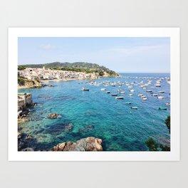 Costa Brava Spain Art Print