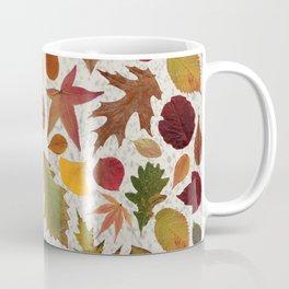 Autumn Leaves Speckle Coffee Mug