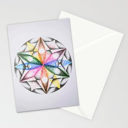 Sacred pointillism #2 Stationery Cards