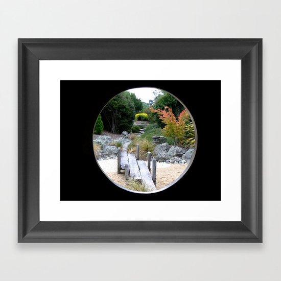 A Hole New World  Framed Art Print