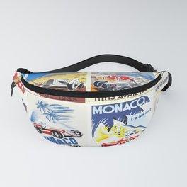 Monaco Grand Prix 1930 1966 Fanny Pack