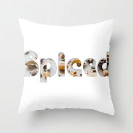 Spiced Throw Pillow
