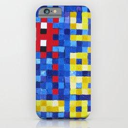 I Space Invader Paris iPhone Case