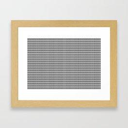 four/four Framed Art Print