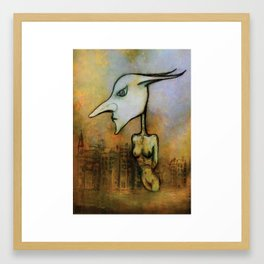 StrangeBird Framed Art Print