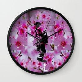 Spring Oiran Wall Clock
