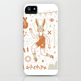 The Trickster iPhone Case