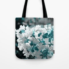Popcorn flowers Tote Bag