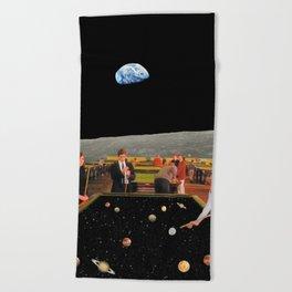 Cosmic Games Beach Towel