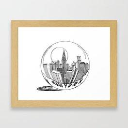 New York Print. Home Decor Graphicdesign Framed Art Print