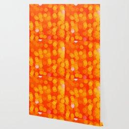 Orange Disco Fever Wallpaper