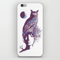 Night Watcher iPhone & iPod Skin