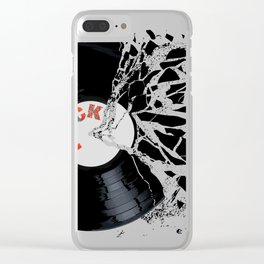 Shattered Record Clear iPhone Case