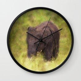 Elephant Baby Wall Clock
