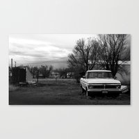 ford Canvas Prints featuring ford. by Susan Domain
