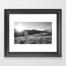 Chasing Daylight 2.0 Framed Art Print