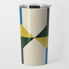 Modern Block #4 Travel Mug