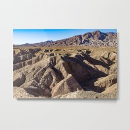 View towards Granite Mountain in the Anza Borrego Desert State Park, California, USA Metal Print