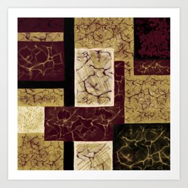 Crackle2 Art Print