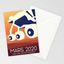Mars 2020 Rover Stationery Cards