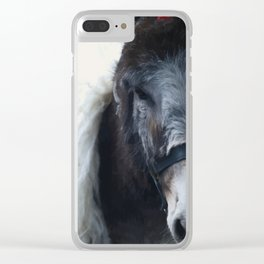 Donkey King by ZH Clear iPhone Case