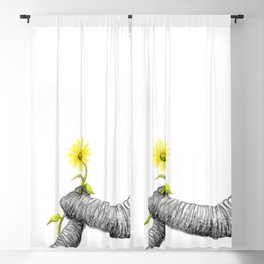 """""""Up Close You Are More Wrinkly Than I Remembered"""" Blackout Curtain"""