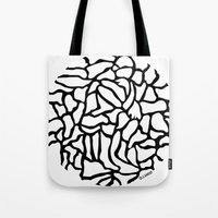 globe Tote Bags featuring Globe by Vered