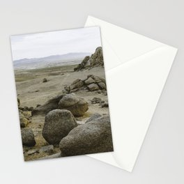 Somewhere in the Gobi Desert Stationery Cards