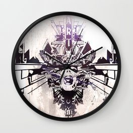 Protect! Wall Clock