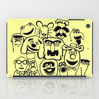 muppet iPad Cases featuring Muppet line by BlackBlizzard