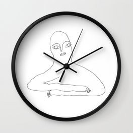 l'attente Wall Clock