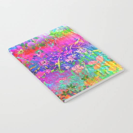 Bright Flower Garden Notebook