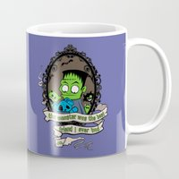 frank Mugs featuring Frank by the inked skull
