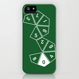 Unrolled D10 iPhone Case
