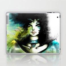 THE GREEN WOMAN Laptop & iPad Skin