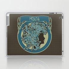 medusa silhouette (dark) Laptop & iPad Skin