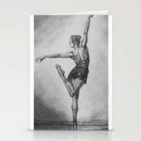 ballerina Stationery Cards featuring Ballerina by Megan
